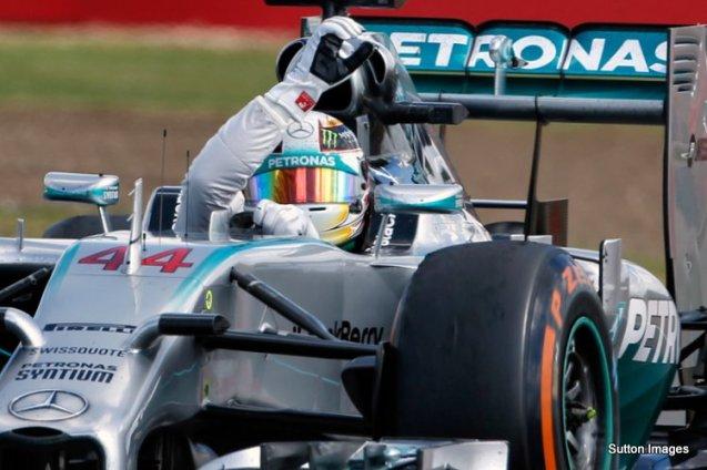 Formula One World Championship, Rd9, British Grand Prix, Race Day, Silverstone, England, Sunday 6 July 2014.